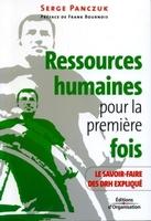 Serge Panczuk - Ressources humaines pour la première fois