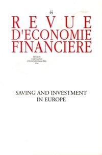 Saving and Investment in Europe