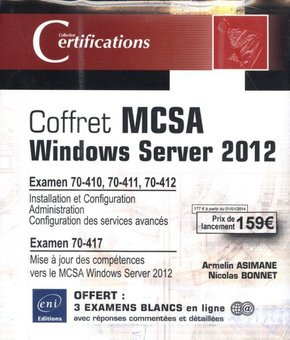Coffret MCSA Windows Server 2012