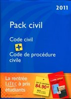 Pack civil - 2011