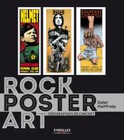 D.Maiffredy - Rock poster art. serigraphies de concerts