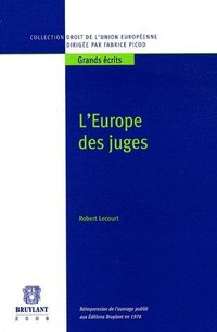 L'Europe des juges