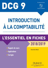 Introduction à la comptabilité - DCG 9 - 2018-2019
