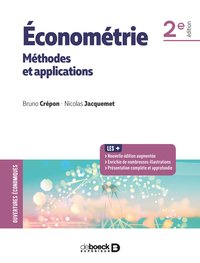 Économétrie : méthodes et applications