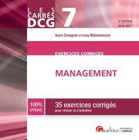 Exercices corrigés de management (édition 2016/2017)