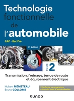 Technologie fonctionnelle de l'automobile - Tome 2