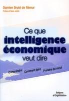 D.Bruté de Rémur - Ce que intelligence économique veut dire