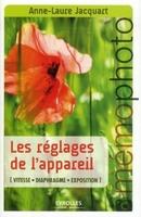 A.-L.Jacquart - Les réglages de l'appareil
