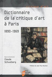 Dictionnaire de la critique d'art à Paris