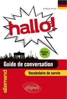 Hallo! guide de conversation allemand et vocabulaire de survie