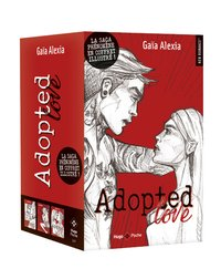 Coffret adopted love - 3 tomes illustrés