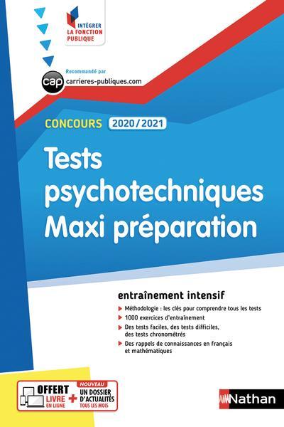 Tests Psychotechniques Maxi Preparation N55 Integrer La Librairie Eyrolles
