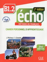 Echo b1.2 cahier d'apprentissage + cd audio 2ed