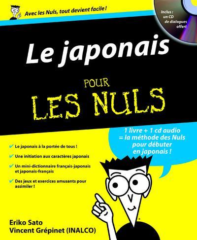 Le Japonais Pour Les Nuls E Sato V Grepinet Librairie Eyrolles