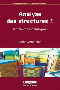 Analyse des structures - Tome 1