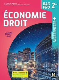 Ressources Economie Droit 2de Bac Pro Manuel De L Eleve Librairie Eyrolles