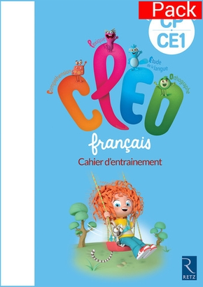 Pack de 6 cahiers cleo cp ce1