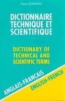Dictionnaire technique et scientifique -  Dictionnary of Technical and Scientific Terms - Volume 1