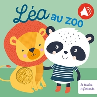 Léa au zoo je touche et j'entends