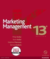 Marketing management - Avec eText