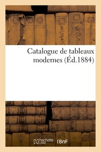 Catalogue de tableaux modernes