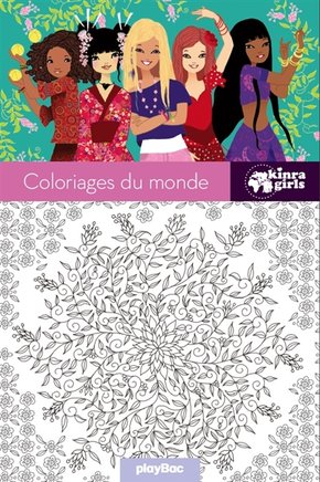 Coloriages du monde - Kinra girls