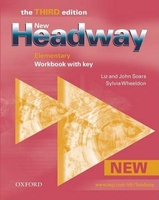 New Headway Elementary 3rd edition workbook with key