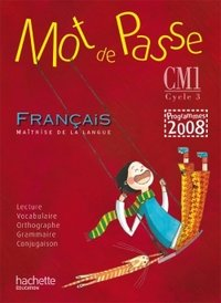 Mot de passe français cm1 - guide pédagogique + cd audio - ed.2010