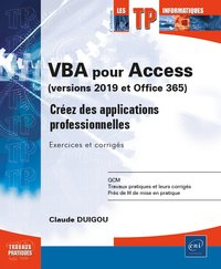 VBA pour Access (versions 2019 et Office 365)