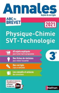 Physique Chimie - SVT - Techno 3e