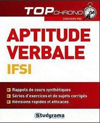 Tests d'aptitude verbale IFSI