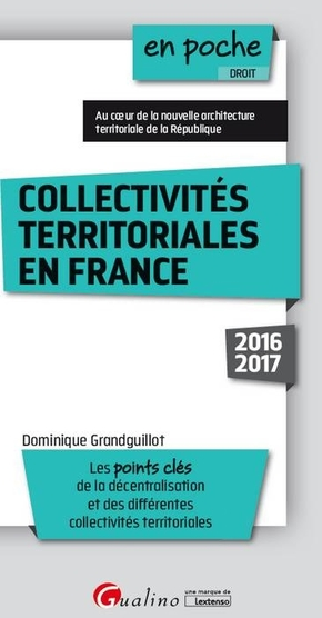 Collectivités territoriales en France - 2016-2017