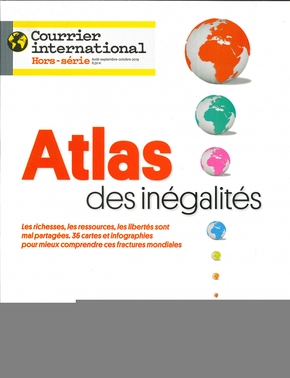 Courrier international hs n 72 atlas de inegalites - aout 2019