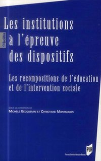 Institutions a l epreuve des dispositifs