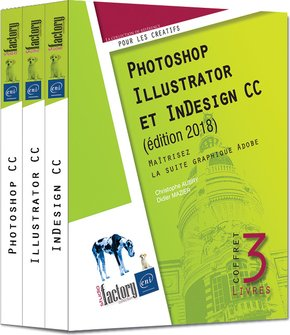 Photoshop, Illustrator et InDesign CC