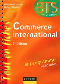 Commerce international - BTS 1re et 2e années