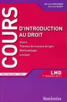 L'introduction au droit