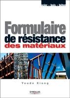 Youde Xiong - Formulaire de résistance des matériaux