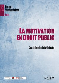 La motivation en droit public