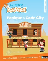 Ton atelier Scratch - Panique à Code City