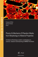 Physics and Mechanics of Random Media: from Morphology to Material Properties