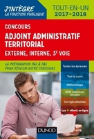 Concours - Adjoint administratif territorial - 2017/2018
