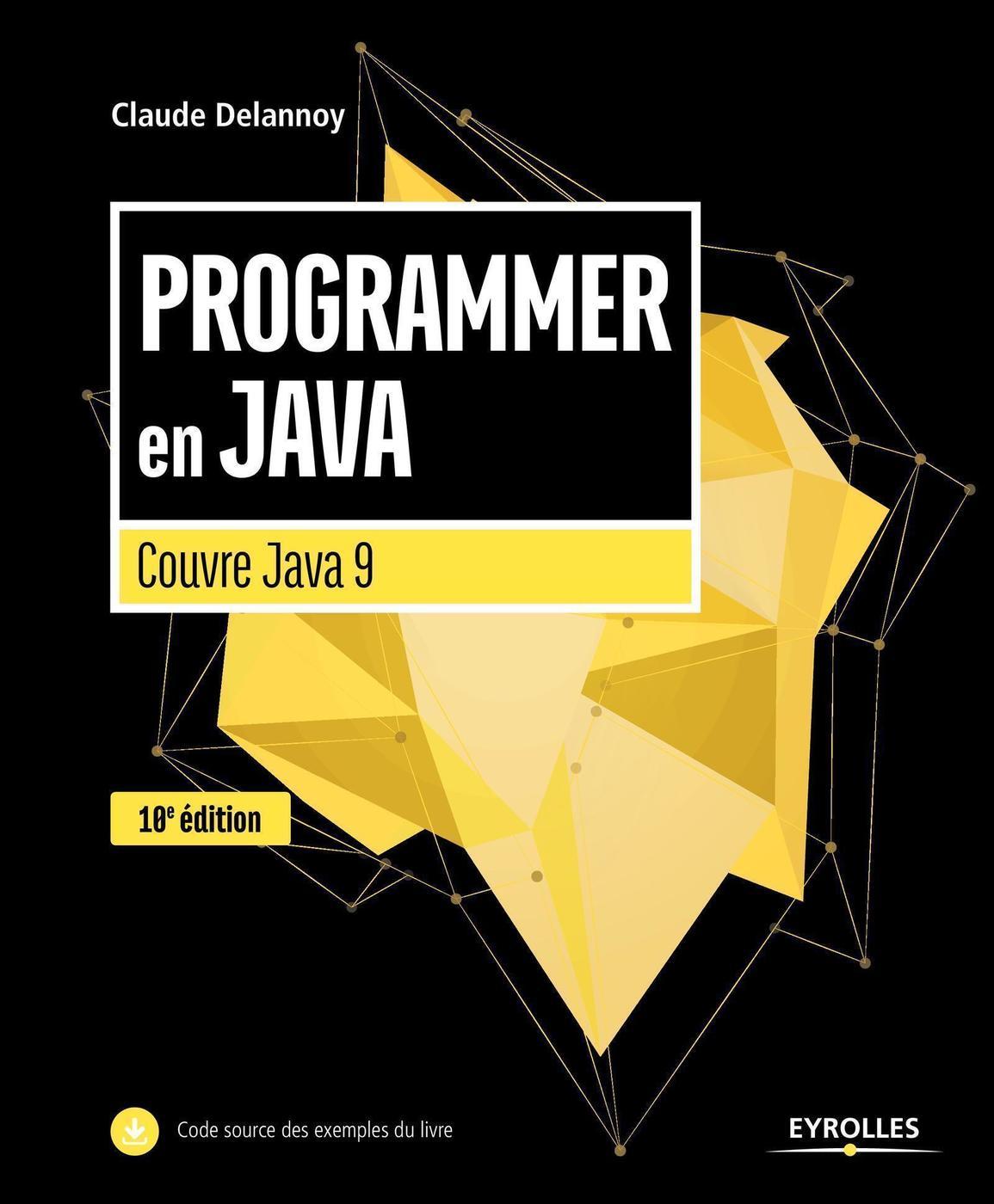 Programmer En Java Couvre Java 9 C Delannoy 10eme Edition Librairie Eyrolles