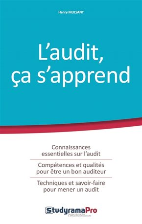 L'audit, ça s'apprend
