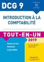 Introduction à la comptabilité - DCG 9 - 2019