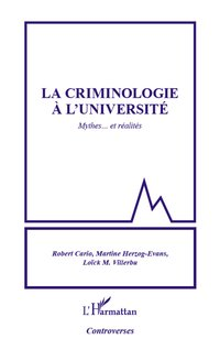 La criminologie à l'université