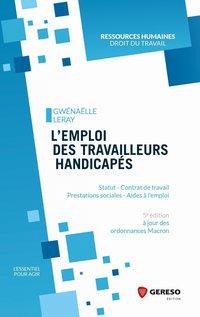 5e783bc489c L emploi des travailleurs handicapés - G.Leray - 5ème édition ...