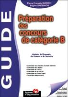 P.-F.Guédon, J.-F.Guédon, B.Sintsimon - Préparation des concours de catégorie b