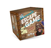 Escape game junior - le trésor du pirate (coffret)