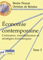 Economie contemporaine - Tome 3